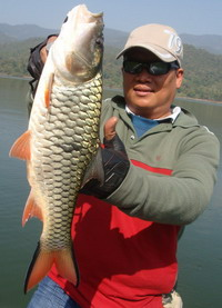 guide fishing in chiangmai northern Thailand
